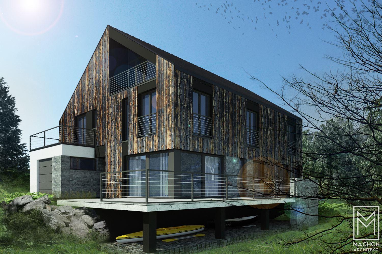 dom mieszkalny nowoczesny