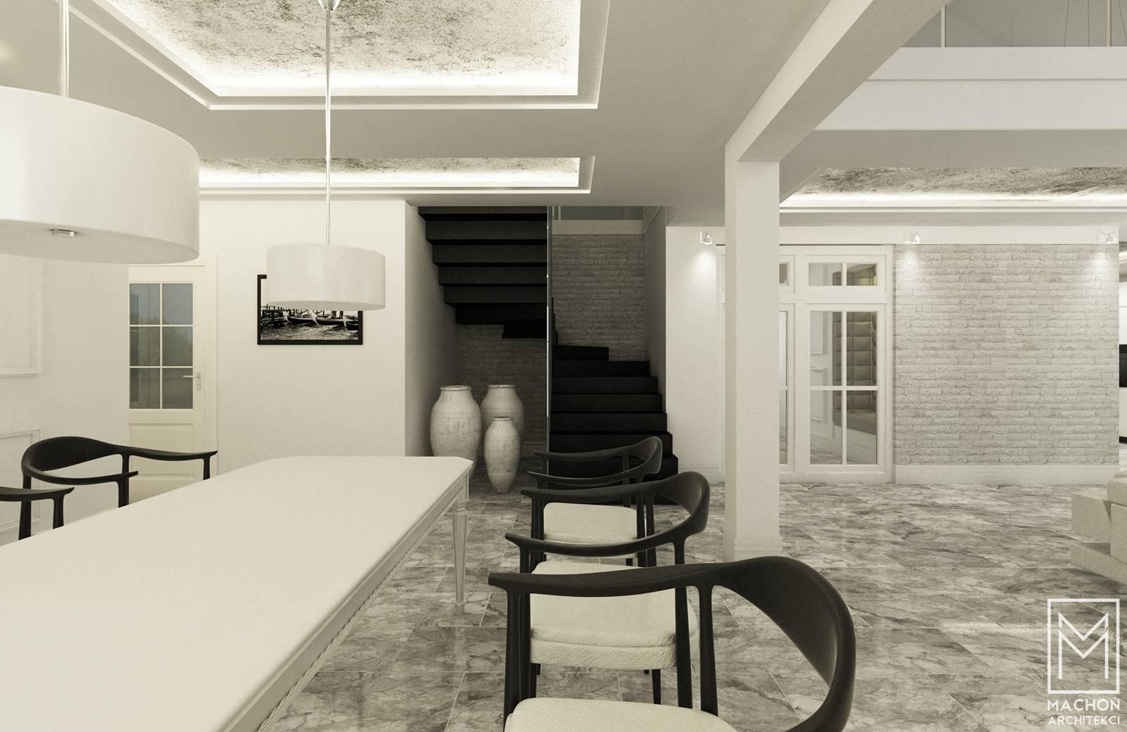 sufit podwieszany nowoczesne meble
