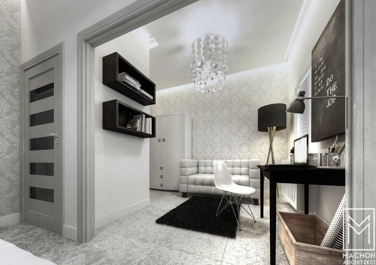 loft sypialnia mieszkanie bielsko biała