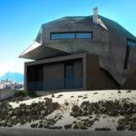 czarny kolor architektura black architecture machon architekci