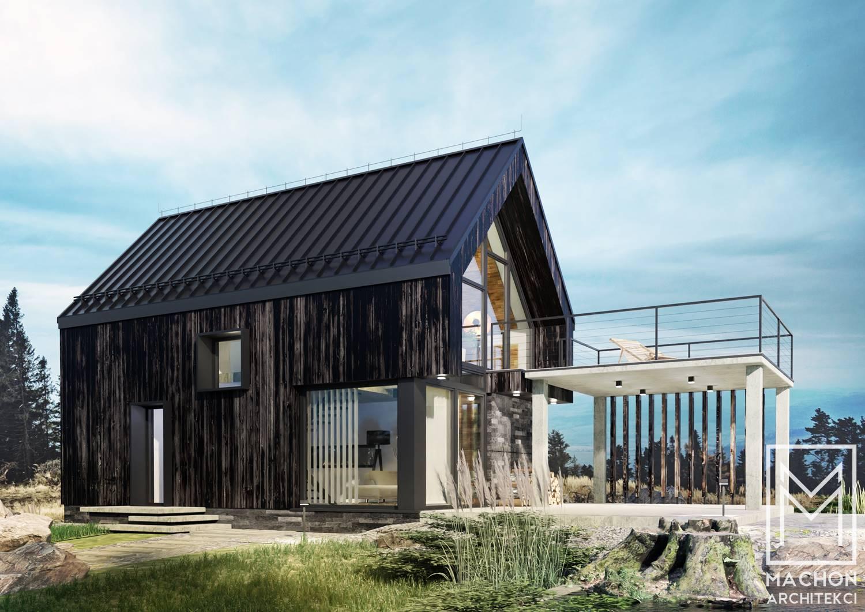 diablak 3 niewielki dom mieszkalny energooszczędny