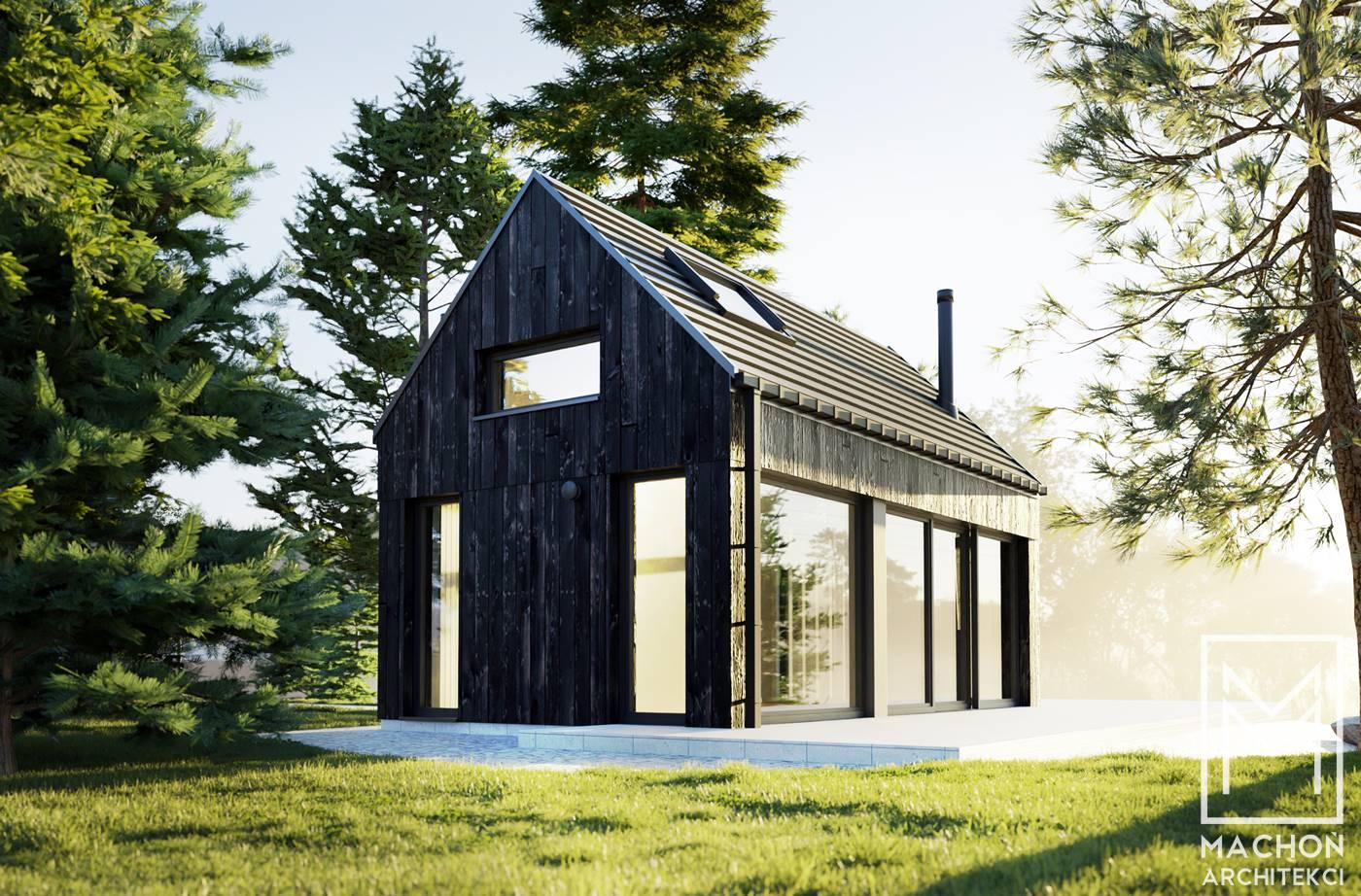 domek letniskowy nad morzem sasino na zgłoszenie nowoczesny stodoła wnętrze bez okapu dom na lato całoroczny